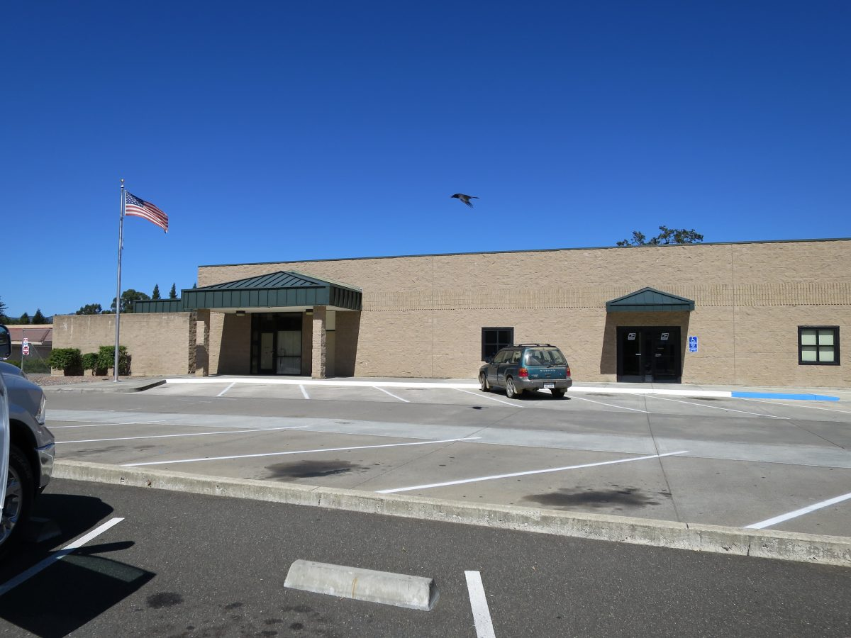 Ukiah post office