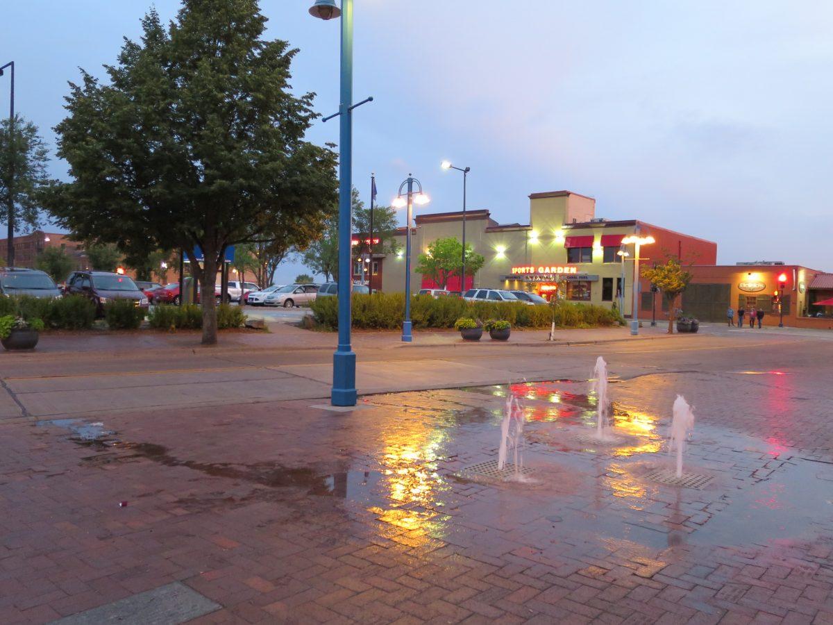 Fountain or Water leak?