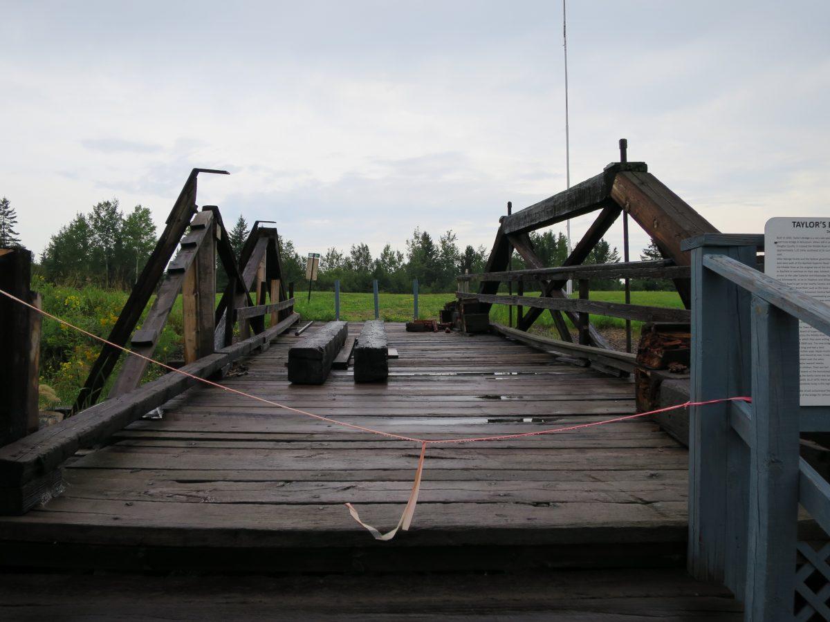 Wisconsin's Last Queen-Post Bridge