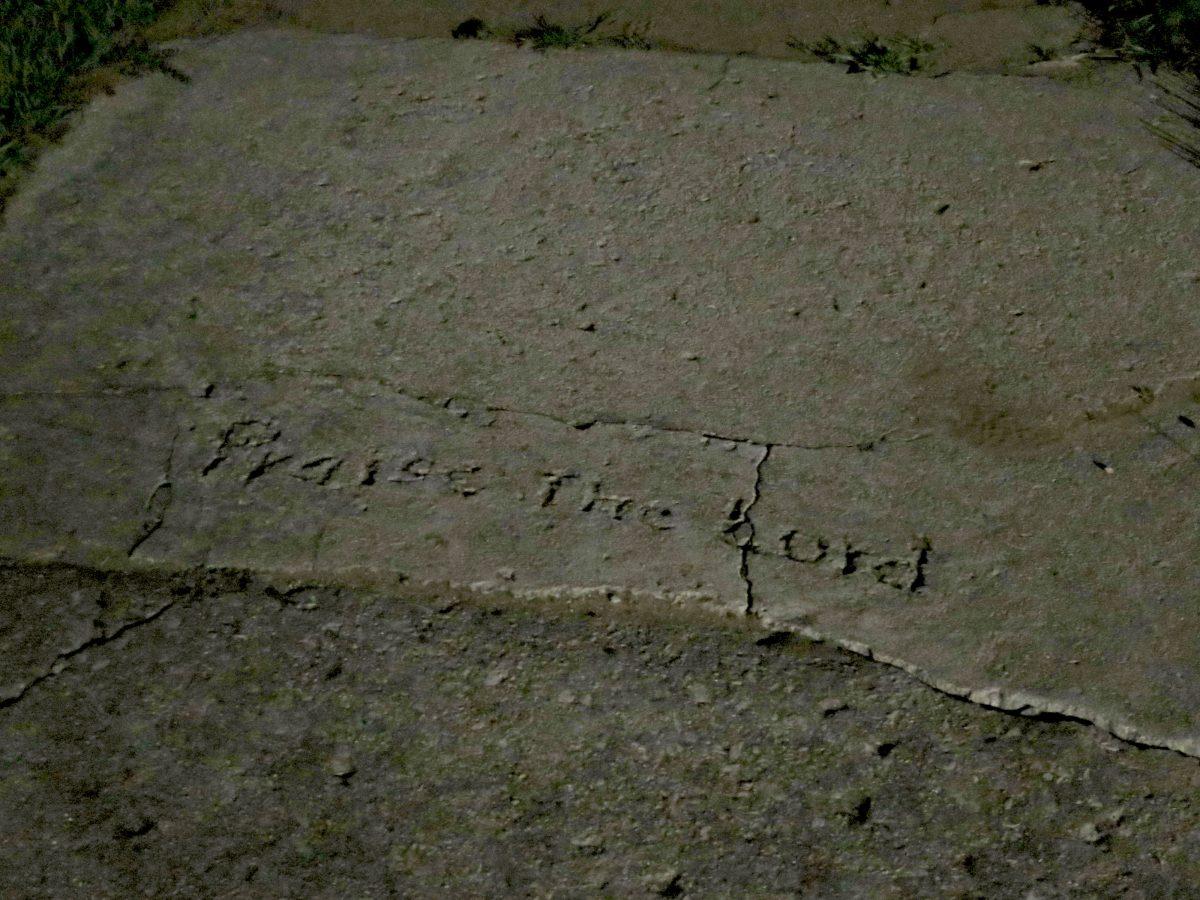 Religious vandalism
