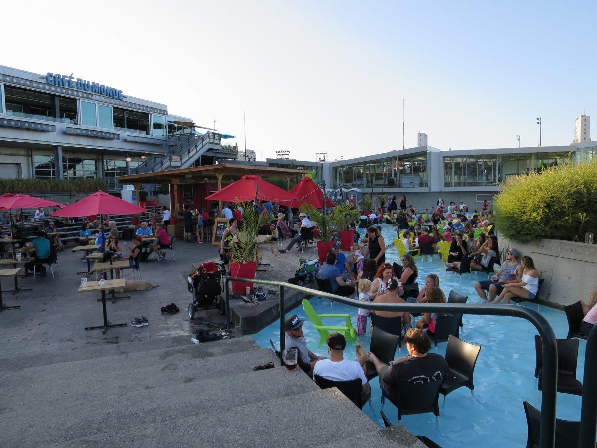 Beer Fest in a Pool!