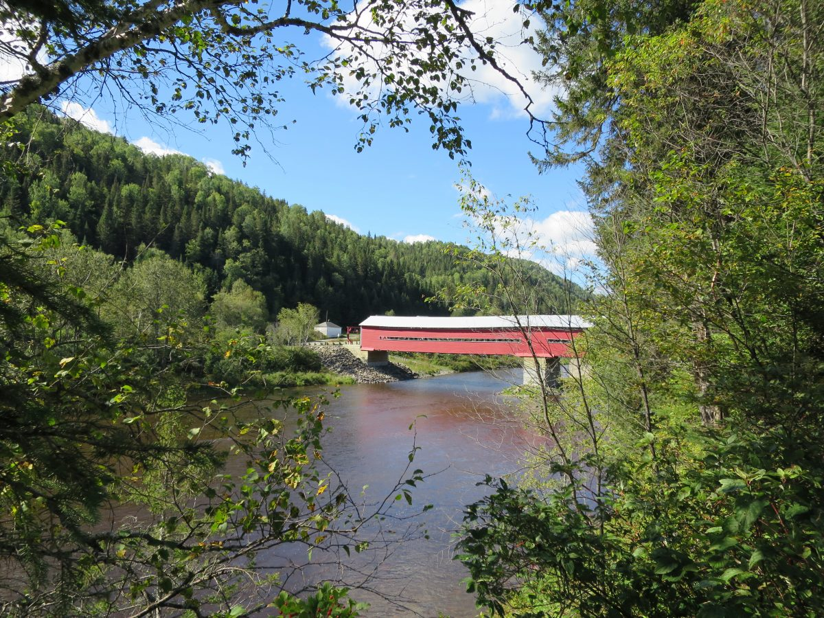 Sample covered bridge